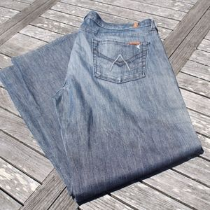 7 For All Mankind Mens A Pocket Relaxed Jeans 38